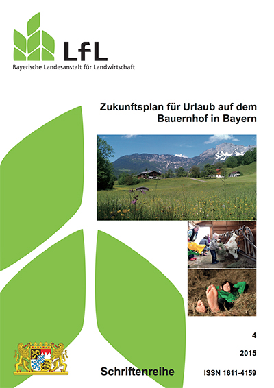 Book Cover: Zukunftsplan für Urlaub auf dem Bauernhof in Bayern