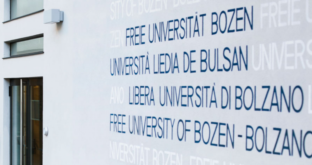 Kompetenzzentrum Tourismus und Mobilität an der Freien Universität Bozen